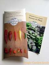 Chili cultivation set (unheated):' Basic - Spice Chilis', 5 rare hot Eastern European varieties of chili seeds with propagator & cultivation accessories. #4