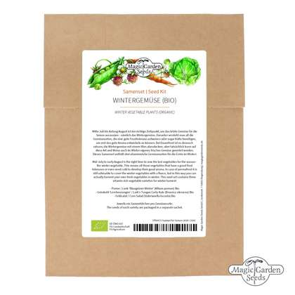 Winter Vegetable Plants (Organic) - Seed kit